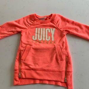 Juicy couture girls sweatshirt